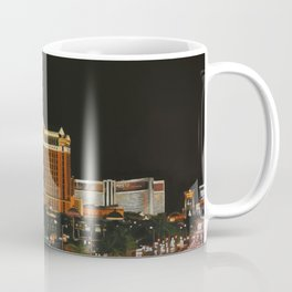 Las Vegas Strip Oil On Canvas Coffee Mug