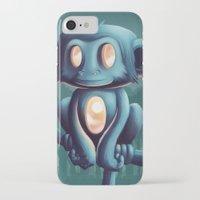 sunrise iPhone & iPod Cases featuring Sunrise by Chump Magic