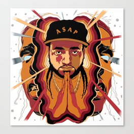 ASAP YAMS---ARTWORK Canvas Print