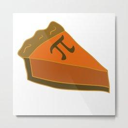 Pumpkin PI Metal Print