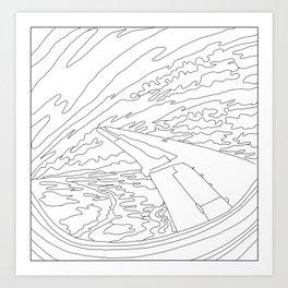 Migrating North Art Print