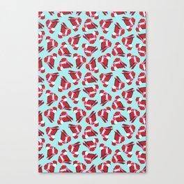 Red Gemstone Canvas Print