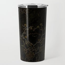 Follow the boy with the Black Heart (Caraval) Travel Mug