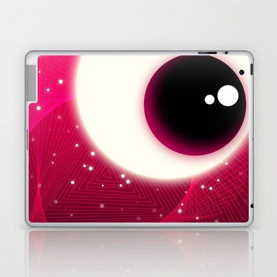 Red Dot Eye Laptop & iPad Skin