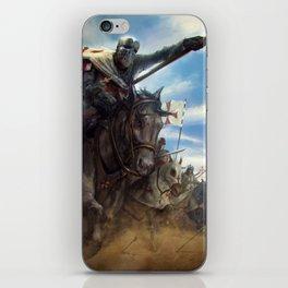 Crusades iPhone Skin