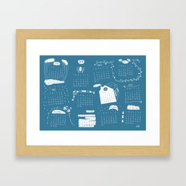 Calendar 2015 Framed Art Print
