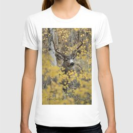Hiding in the Aspens T-shirt