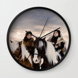 Le Voyage des soeurs Koizumi Wall Clock