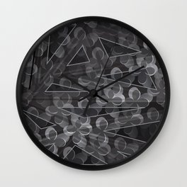 Flower Motifs 6 Wall Clock