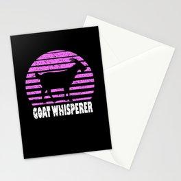 Retro Goat Whisperer I Goat Motif Stationery Cards