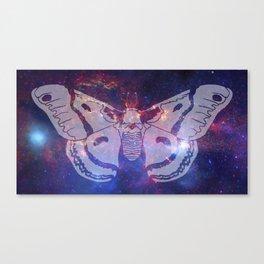 Space Moth (Commission) Canvas Print