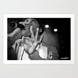 Live from New Jet City: Curren$y pt. 4 Art Print