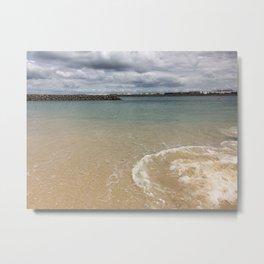 Beautiful clear water at Yarra Bay Beach Metal Print