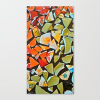 mosaic Canvas Prints featuring Mosaic by Maggie Dylan