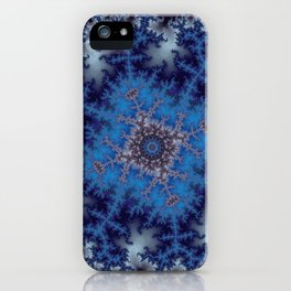 Fractal Square iPhone Case