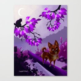 Roscoe-Roo, The Fable Canvas Print