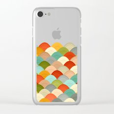 yarn hill dollops Clear iPhone Case