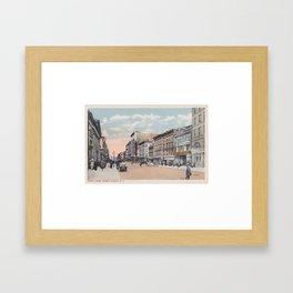 North Pearl Street, Albany, NY Framed Art Print