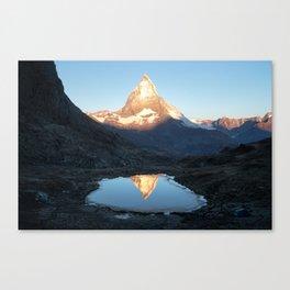 Matterhorn Sunrise Canvas Print