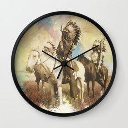 Sioux Chiefs Wall Clock