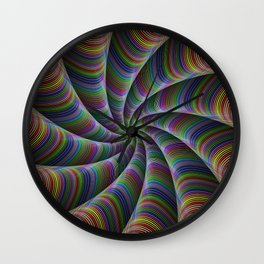 Infinite color fun Wall Clock