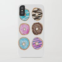 donut iPhone & iPod Cases featuring Donut by KseniaKess