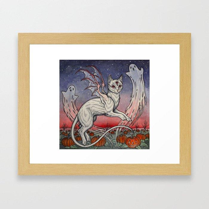 Spirits Of All Hallows Eve Framed Art Print