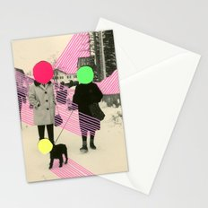 Fluo Conversations Stationery Cards