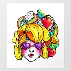 Harvest Cutie Art Print