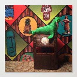 The Walrus & The Tiki Lounge Canvas Print