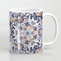 cigarettes Mugs featuring cigarettes pattern by Sushibird
