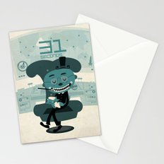 I've been waiting for you, Mr. Bond Stationery Cards