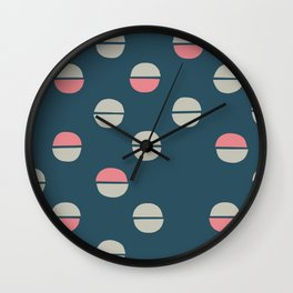 Acorns pattern funky Wall Clock