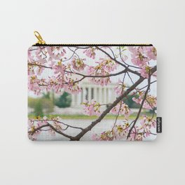 Jefferson through the Blossoms Carry-All Pouch
