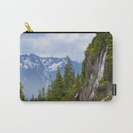 ALPINE WATERFALL AT HEATHER MEADOWS PACIFIC NORTHWEST Carry-All Pouch