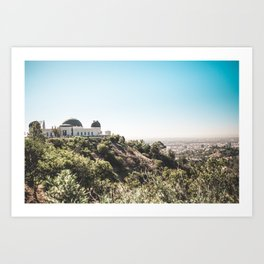 Observatory Views Art Print