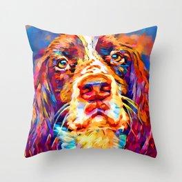 English Springer Spaniel 2 Throw Pillow