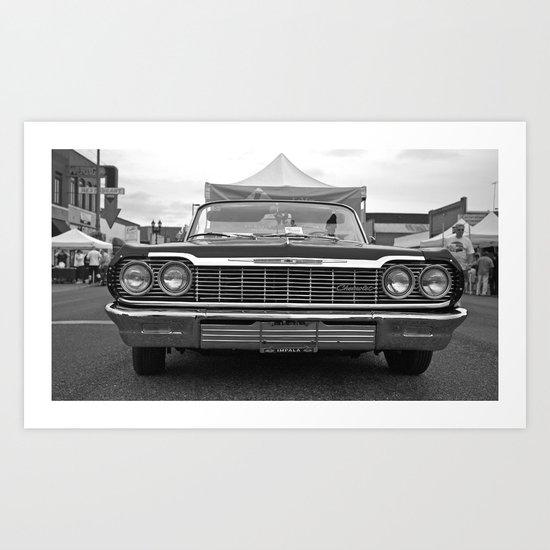 Impala beauty Art Print