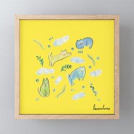 sunday mood Framed Mini Art Print