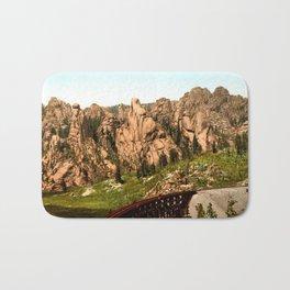 Cathedral Park, Garden of the Gods, Colorado Springs, Colorado, 1901 Bath Mat