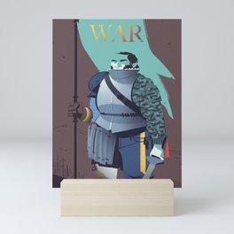 War Mini Art Print