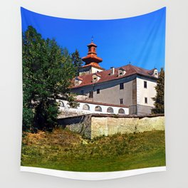 Waldenfels castle, south side Wall Tapestry