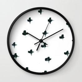 Tiny Cross #1 Wall Clock