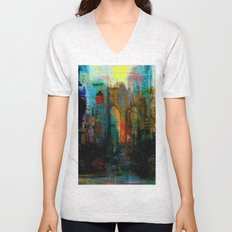 A moment in your city Unisex V-Neck