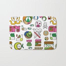 New Maya Language Bath Mat