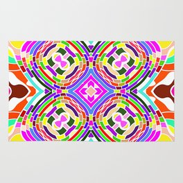 Modern Colorful abstract Pattern SB84 Rug