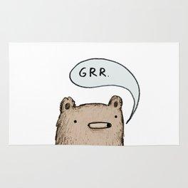 Growling Bear Rug