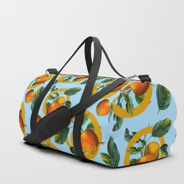 Vintage Fruit Pattern II Duffle Bag
