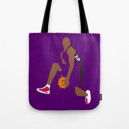 NBA Players   Vince Carter Dunk Tote Bag