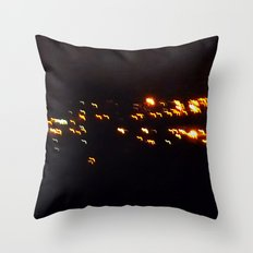 fire birds Throw Pillow